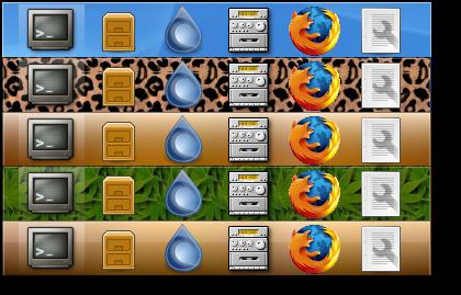 AWN la dockbar di Mac su Linux | Il nido del Picchio