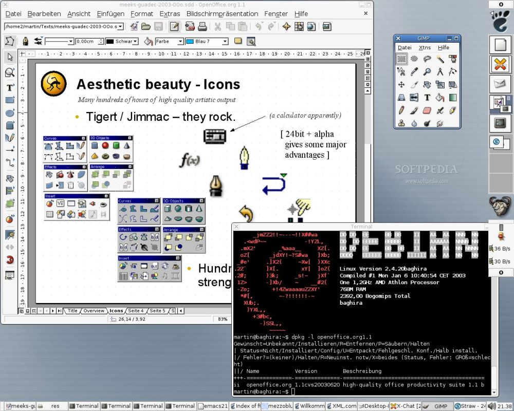trece sistemas operativos no unix