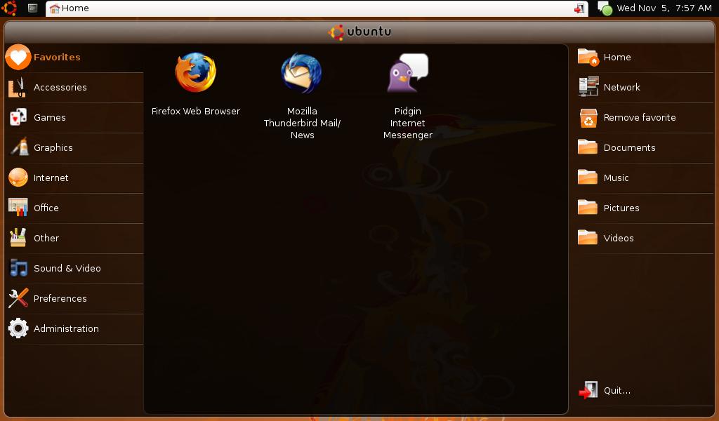 Netbook remix 10 Ubuntu