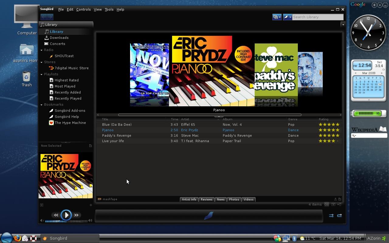 Zorin OS screenshot 1